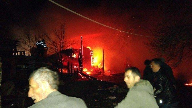 Karabük'te Yangın: 1 Ölü