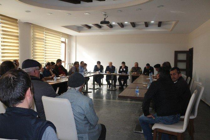 Hanönü Kaymakamlığı Tarafından Hidroelektrik Santrali Toplantısı Yapıldı