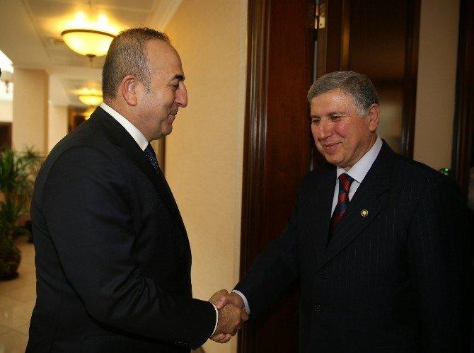 Başkan Kara, Bakan Çavuşoğlu'nu Ziyaret Etti
