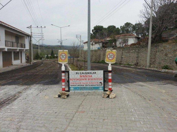 Bostancı Ve Karakurt'ta Asfalt Çalışması