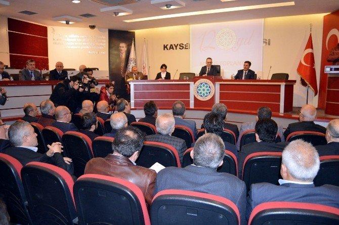 Kayseri Ticaret Odası'nda Tartışmalı Meclis (1)