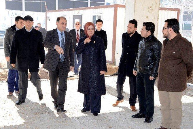Meram'da Spor Kompleksi Hızla Yükseliyor