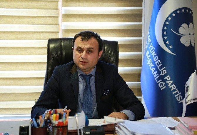 Muhafazakar Yükseliş Partisi'nden, AYM'ye Dokunulmazlıkların Kaldırılması Başvurusu