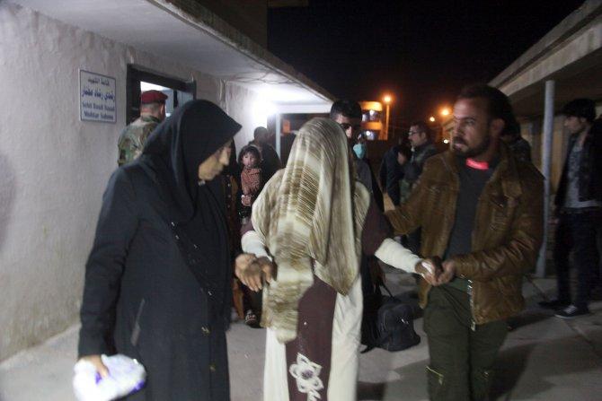 DAEŞ'ın kullandığı kimyasal gazdan etkilenen 15 Türkmen Türkiye'ye gönderildi