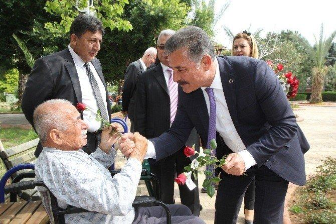 Başkan Tuna, Huzurevi Sakinleriyle Buluştu
