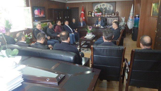 Türk Metal'den Başkan Demirtaş'a Ziyaret
