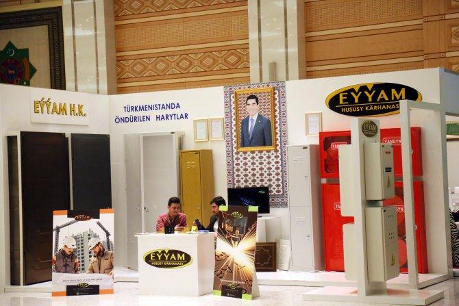 Türkmenistan Uluslararası Mobilya Fuarı açıldı