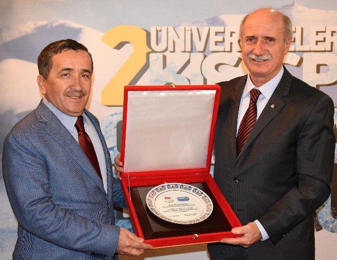 Üniversitelerin Spor Temsilcileri Erzurum'da Buluştu