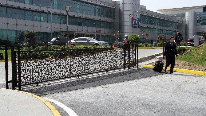 """Atatürk Havalimanı'nda Güvenlik Seviyesi """"Turuncu"""""""