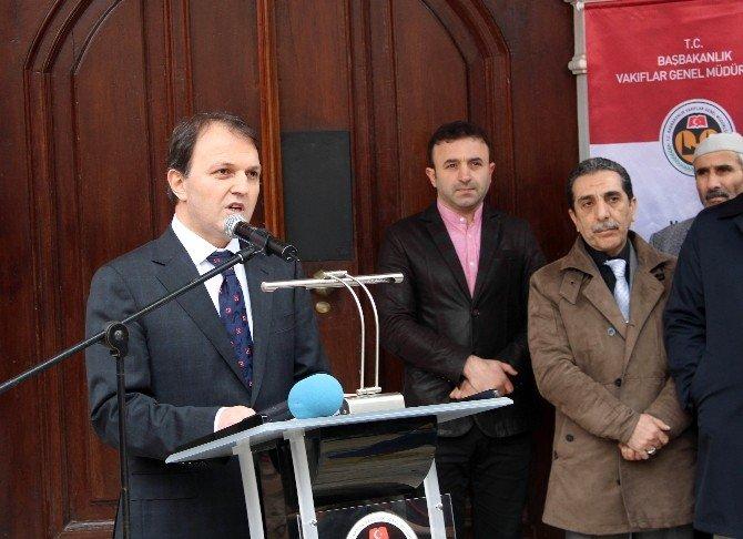 Başbakan Yardımcısı Akdoğan Tekirdağ'da Tarihi Camiyi Açtı