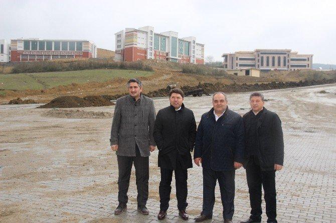 Milletvekili Tunç Yeni Kampüs Alanında İnceleme Yaptı