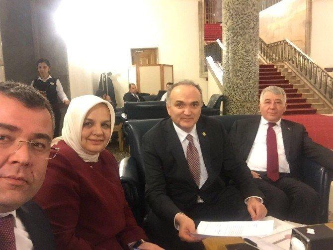 Düzce Akparti İl Başkanı Hikmet Keskin'den Yatırımlara Sıkı Takip
