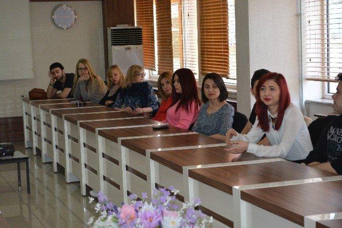 Avrupalı Öğrenciler Valiliği Ziyaret Etti