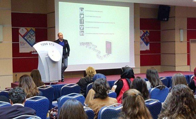 TOBB Üniversitesi Mimar Bahadır Kul'u Ağırladı