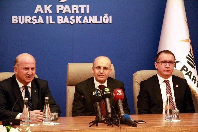"""Başbakan Yardımcısı Şimşek: """"Türkiye Ekonomisi Geçen Yıl Yüzde 4 Civarında Büyüdü"""""""