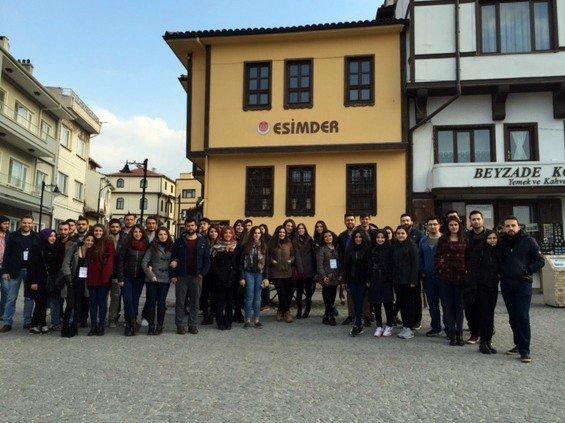 Üniversite Öğrencileri Odunpazarı'na Hayran Kaldı