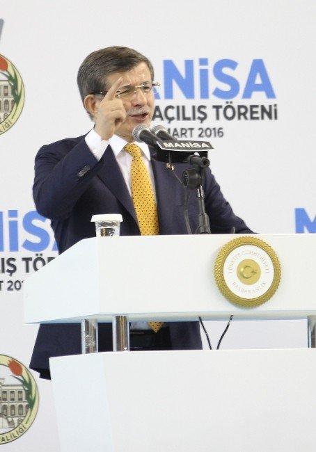 Başbakan Davutoğlu'ndan CHP'ye Sert Eleştiri