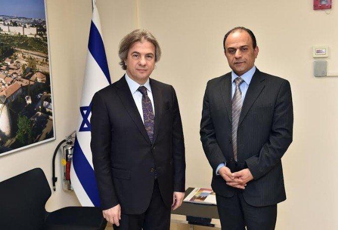 Başkan Demircan, İran Ve İsrail Başkonsolosluklarına Taziye Ziyaretinde Bulundu