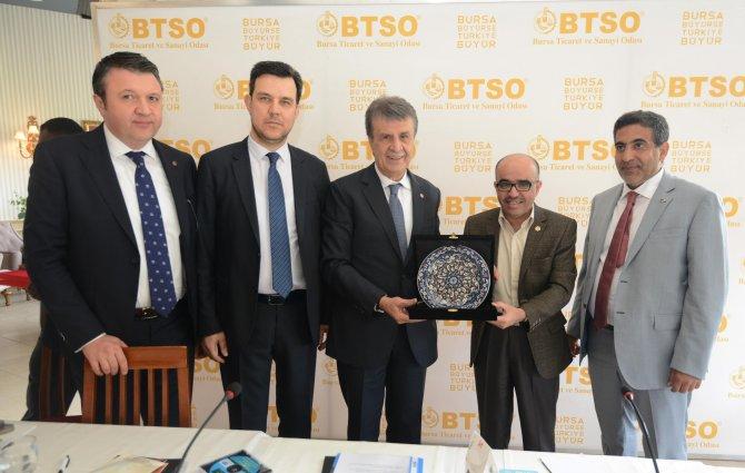 Bursa, Arap dünyası ile işbirliğini güçlendiriyor