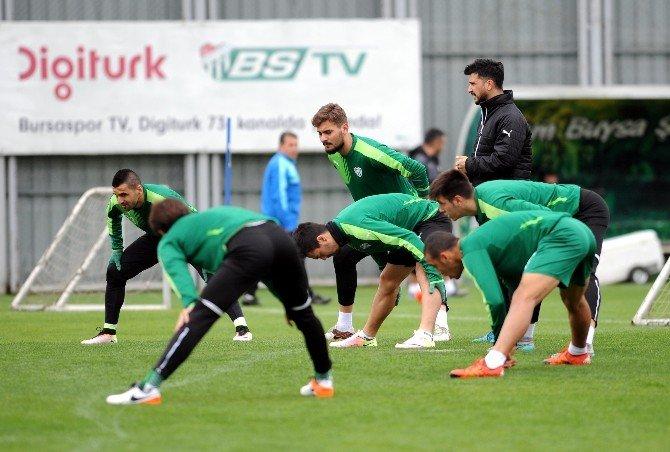 Bursaspor'da Sivasspor Mesaisi