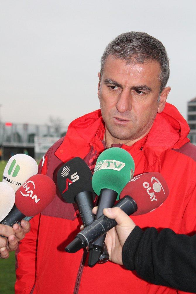 Hamzaoğlu: Sivas maçına en iyi şekilde hazırlanacağız