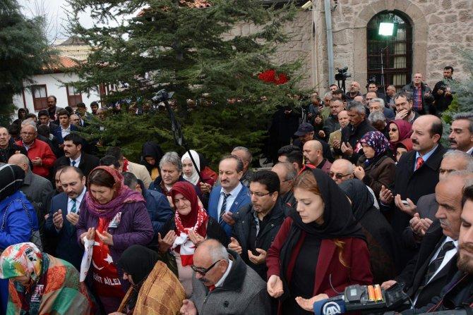 Yazıcıoğlu, vefatının 7. yılında kabri başında dualarla anıldı