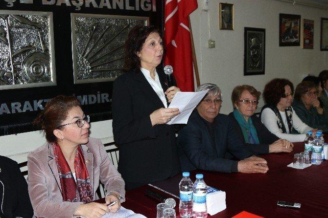 CHP'li Kadınlar, Çocuklara Yönelik Cinsel İstismarı Kınadı