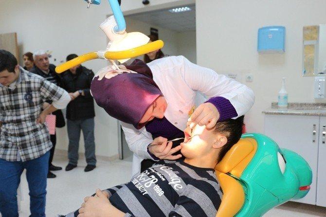 Down Sendromlu Çocuklar BEÜ Diş Hekimliği Uygulama Ve Araştırma Merkezi'nin Misafiri Oldu