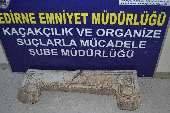 Edirne'de Tarihi Eser Kaçakçılığı Operasyonu