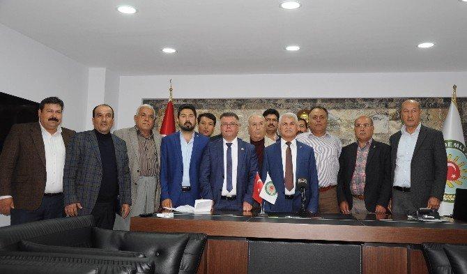 Erdemli Ziraat Odası Başkanı Rasim Şahin Duayla Göreve Başladı