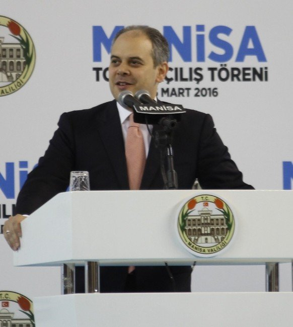 Başbakan Davutoğlu Manisa'da Toplu Açılış Törenine Katıldı