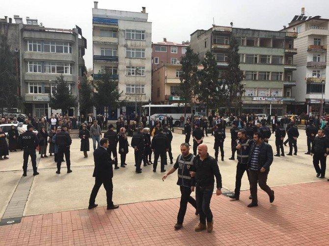 Giresun'da Fetö/pdy Operasyonu'nda Gözaltına Alınan 7 Kişi Adliyeye Sevk Edildi