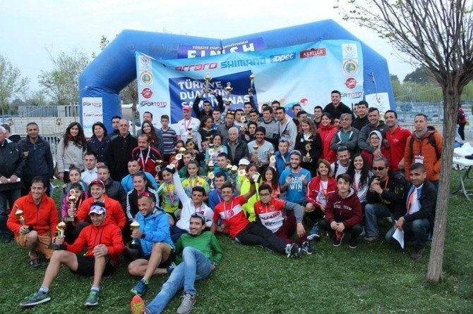 Büyükşehirin Sporcusu Duatlon Türkiye Şampiyonu Oldu