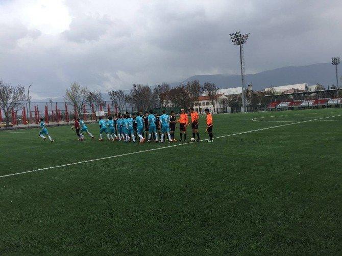 U-15 Türkiye Şampiyonasına Katılan Bilecik İl Özel İdarespor 3 Puanla Tanıştı