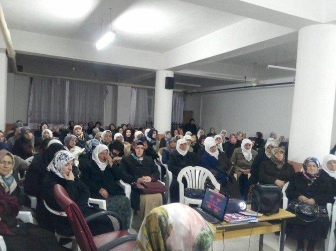 Kargı Müftülüğü Bayanlara Özel Konferans Düzenledi