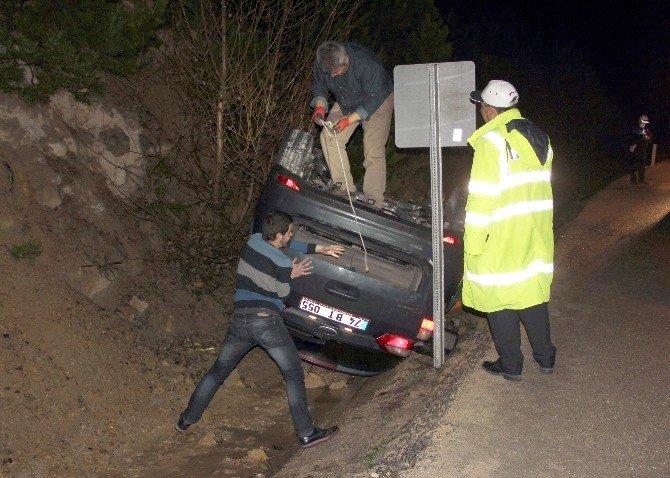 Kaza Yapan Bayan Sürücüden İlginç Yorum