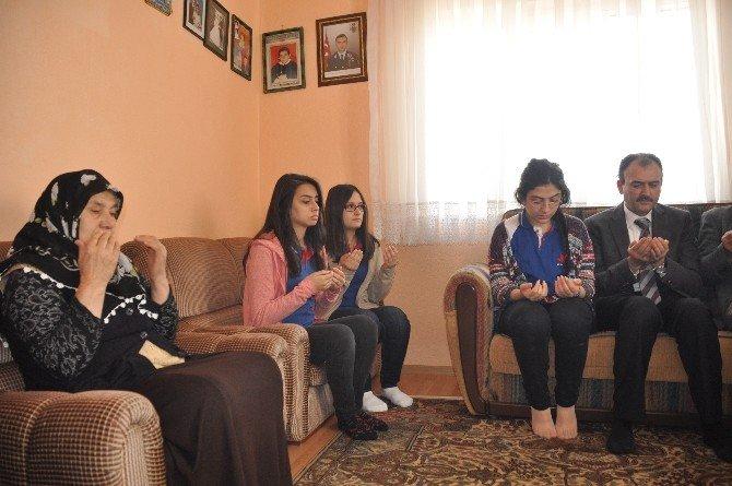 Benim Şehidim, Benim Ailem Projesi Çerçevesinde 16 Şehit Ailesi Ziyaret Edildi