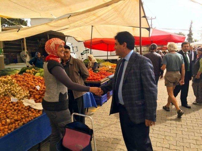 Başkan Gül, Göynük Mahallesi'ni Ziyaret Etti