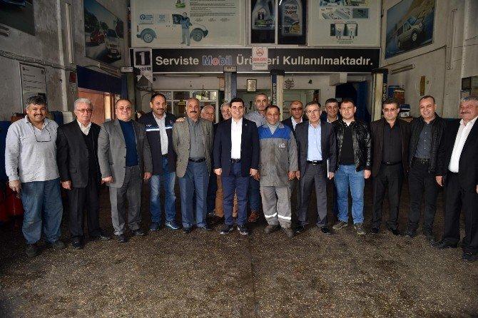 Akdeniz Sanayi Sitesine Kamyon Garajı Müjdesi