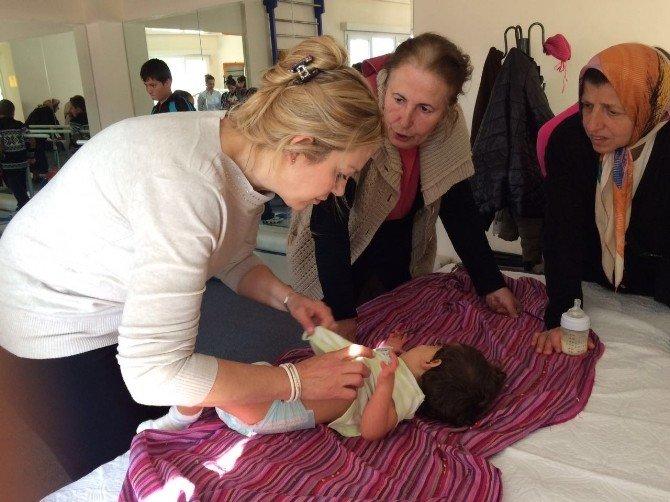 Özel Bodrum Hastanesi, Engelli Çocukları Tedavi Etti