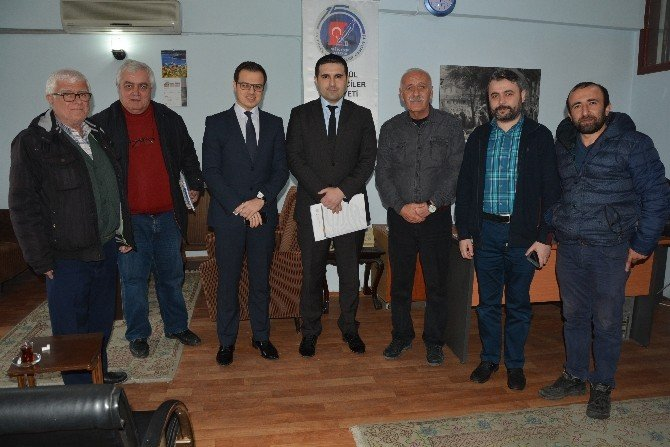 Kuzka'dan Sinop'taki Kurumlara Ziyaret