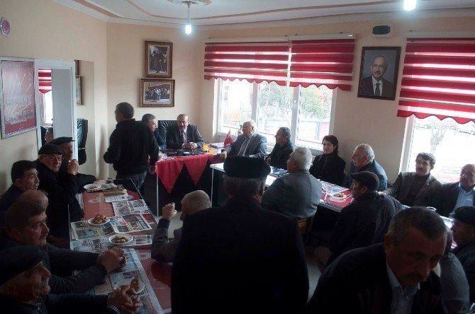 Milletvekili Köse, Sungurlu'da Partililerle Buluştu