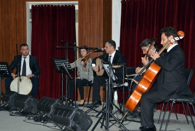 Namık Kemal Üniversitesi'nde, Türk Müziği Konseri