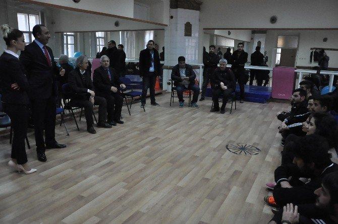 Prof. Dr. Gürbüz Aktaş Öğrencilerle Buluştu