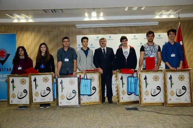 Bilim Merkezi'nde Bilimsel Projeler Yarıştı