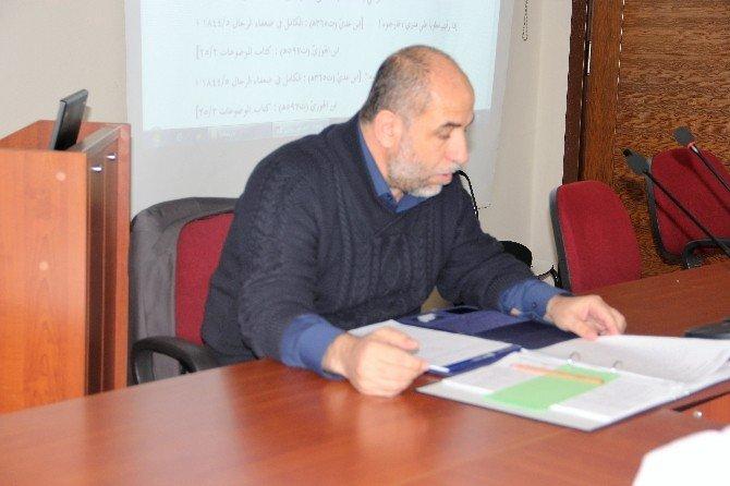 """SAÜ'de """"Şia Ve Ehl-i Sünnet'e Göre Muaviye"""" Semineri"""