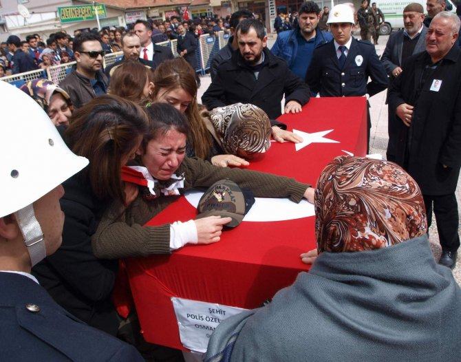 Yozgatlı şehit polisin cenazesine Cumhurbaşkanı Erdoğan da katıldı