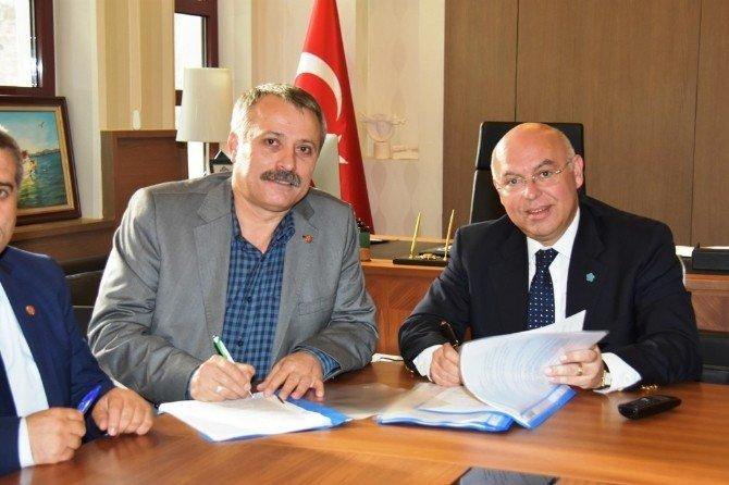 Süleymanpaşa Belediyesi Genil-iş Sendikası İle Toplu Sözleşme İmzaladı