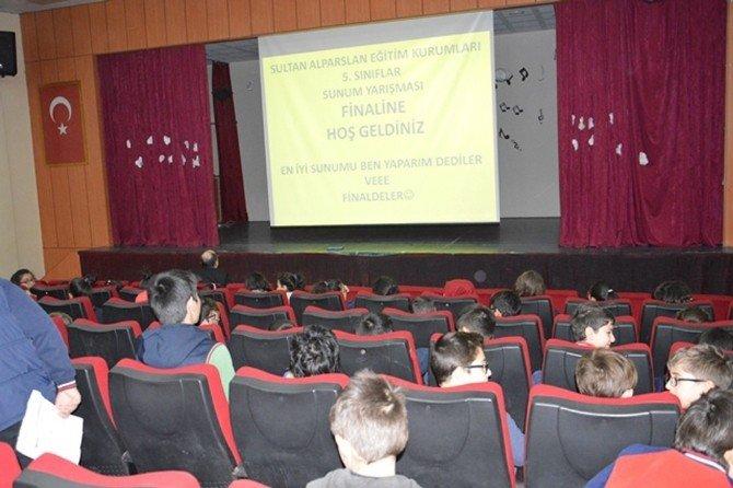 Sultan Alparslan'da Türkçe Yarışmaları Devam Ediyor