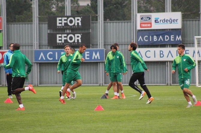 Bursaspor'da Sivasspor Hazırlıkları Devam Ediyor